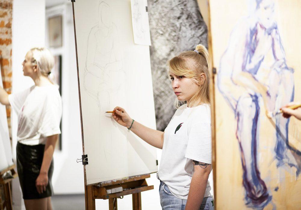 Kurs rysunku malarstwa art form studio